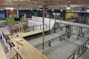 AZ Air Time: The 26,000-square-foot facility AZ Air Time is set to open Saturday, Oct. 19. - Randy Metcalf/The Explorer