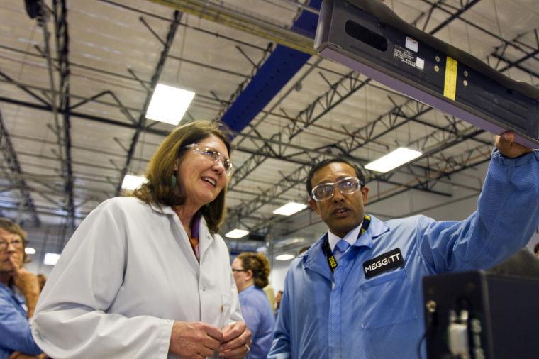 Ann Kirkpatrick visits Securaplane