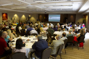 Marana Lunch: Businesses of Marana gather at an annual awards luncheon at the The Highlands at Dove Mountain. - Hannah McLeod/The Explorer
