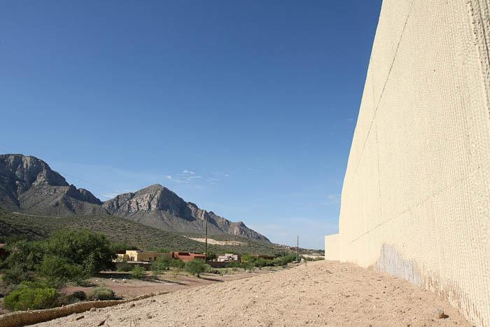 Concrete canyons visually pollute OV