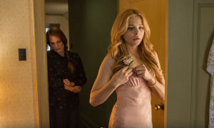 """""""Carrie"""": Chloë Grace Moretz plays the roll of Carrie White alongside Julianne Moore, who plays the role of the mother, Margaret White, in the new rendition of """"Carrie."""" - Courtesy Photo"""