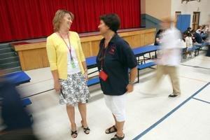 New middle school principals finding their places