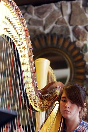 On the wings of strings