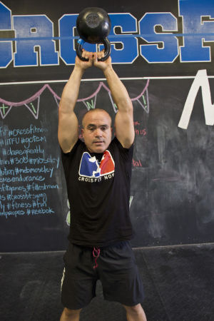 Michael Moseley: Recognized as one of the fittest men in the world, 40-year-old Michael Moseley competed in the International Games for Crossfit this summer. Moseley is one of the owners of Crossfit Now, which is an intense strength and conditioning workout place. - Hannah McLeod/The Explorer