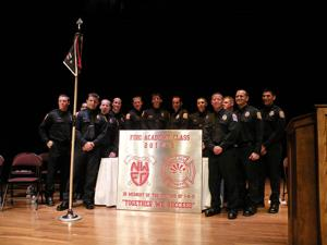 Firefighters graduate 2