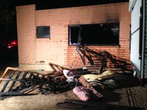 Fire displaces northwest family
