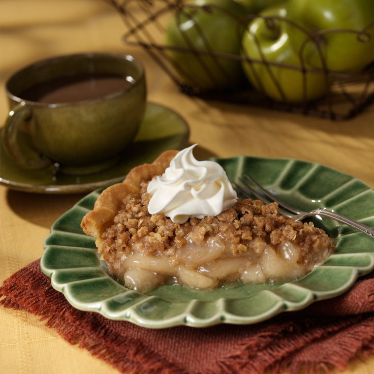 Apple crumble pie holidays