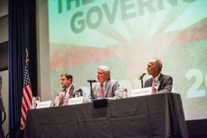 Governor candidates debate