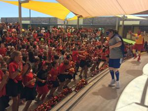Local A+ school celebrates award