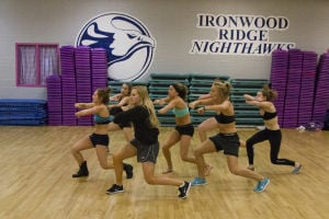 Ironwood Ridge High School Dance Team: After qualifying last summer, the Ironwood Ridge High School Dance Team recently traveled to Florida to compete in Nationals. - Randy Metcalf/The Explorer