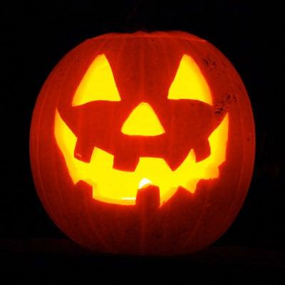 Nightfall Old Tucson pumpkin
