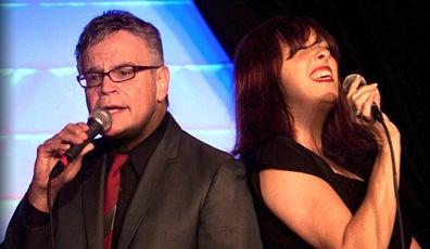 Mark Winkler and Cheryl Bentyne
