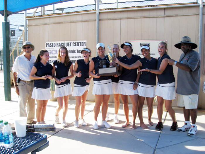Ironwood Ridge girls' tennis team