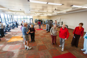 Aquatic & Fitness Center Completed In Sun City: Sun City opened a 12,000-square-foot facility on Jan. 10, which features 43 cardio and weight machines, free weights, as well as two studio rooms.  - J.D. Fitzgerald/The Explorer