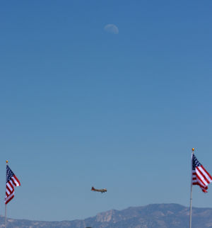Wings Of Freedom Tour: The B17 flies around Marana during its approach.  - Randy Metcalf/The Explorer