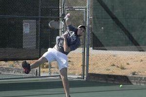 Pima Community College Men's Tennis: Richie Foitik/Photo by Zach Armenta