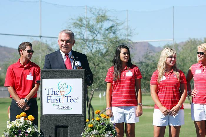 First Tee dedicates its learning center