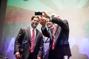 Governor candidates debate
