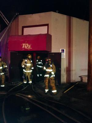 TD's Showclub condemned after early morning fire