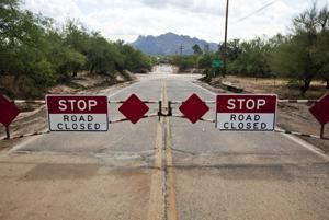 Overton road closure