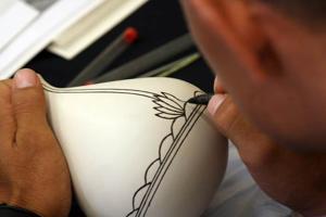A craft up close