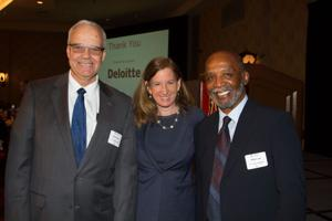 Deloitte CEO Engelbert  honored as executive of the year