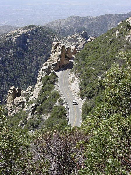 Mount Lemmon Road