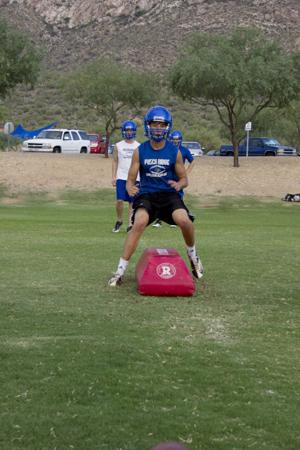 PRCA fball practice