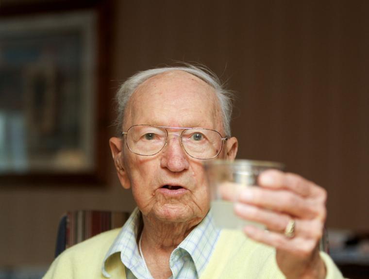 Joe Lambert turns 102