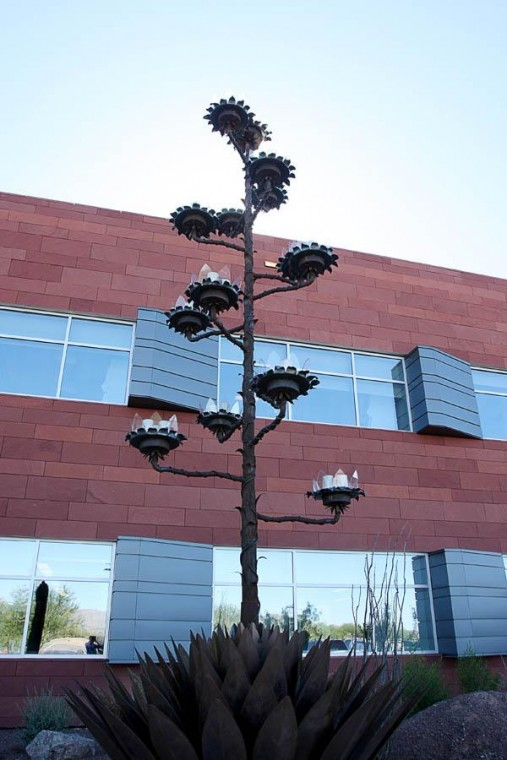 Inspiration for Sanofi-aventis public art came from the place