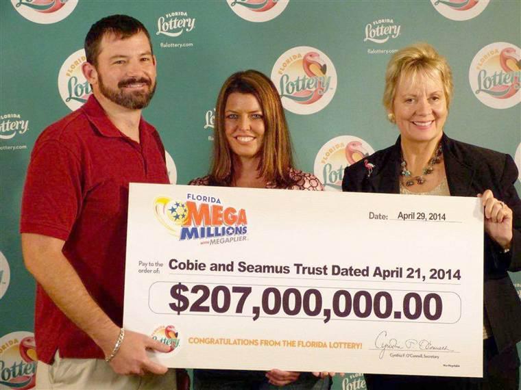 Mega Million winners