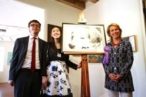 Young artists win praise