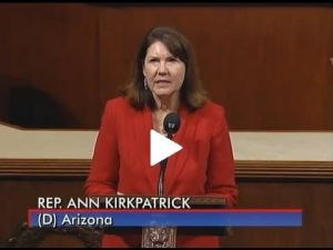 Rep. Kirkpatrick's floor speech: Stop sequestration cuts