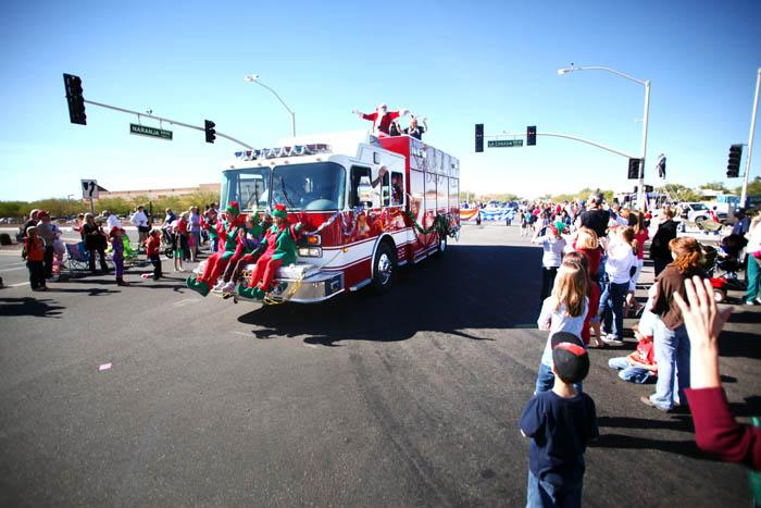 Holiday parade in OV