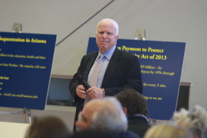 U.S. Sen. John McCain - Randy Metcalf/The Explorer
