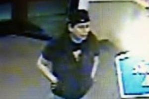 "OVPD Needs Help Identifying Person Of Interest In Fraud Case: OVPD needs help identifying a person of interest in the above photo. The male is described as 5'9""-5'10"" in height, 165-180 lbs., wearing a dark t-shirt, black vest, jeans and a baseball hat on backwards.If you have any information on the identity of this person, please call 911, 88-crime or OVPD at (520) 229-4900. - OVPD"