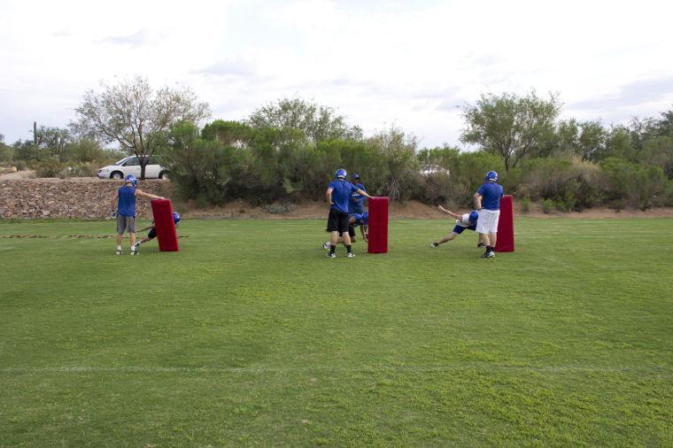 PRCA fball practice