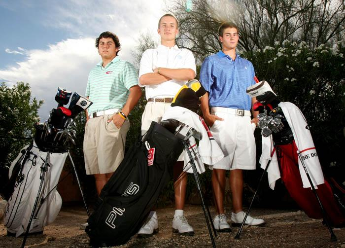 Northwest trio forms core of premier state 16-18 golf team