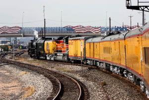 Union Pacific Steam Locomotive