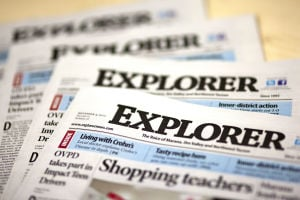 Explorer Newspaper - Randy Metcalf/The Explorer