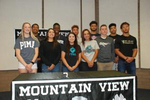 Busy Signing Day for students at three area schools