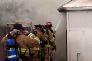 NW Fire Responds To Mobile Home Fire In Marana - Adam Goldberg