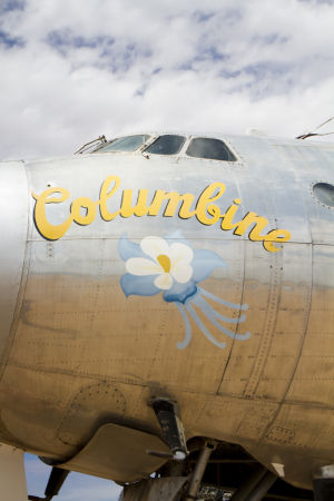 Air Force One: Columbine came to Marana in 2005. - Randy Metcalf/The Explorer
