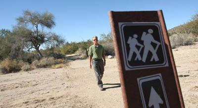 Trail network well on its way