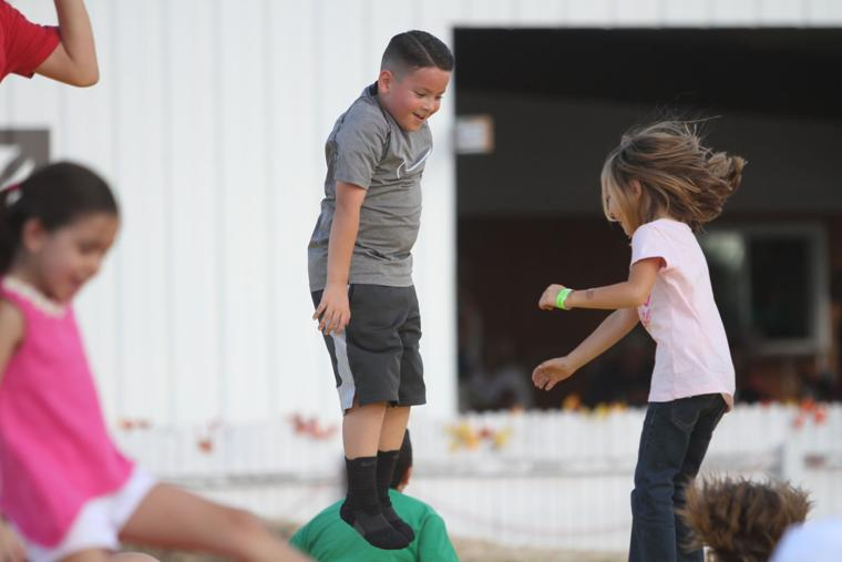 Marana Pumpkin Patch & Farm Festival 2016 More Bouncing
