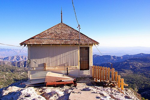 Mt. Lemmon Fire Lookout House