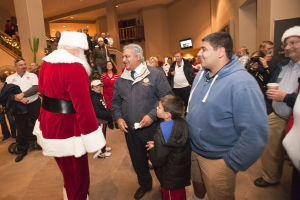 Hilton El Conquistador Tree Lighting Ceremony - Randy Metcalf/The Explorer