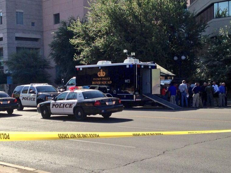 TPD bomb squad investigating suspicious package on Congress