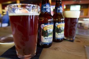 The Lodge Sasquatch Kitchen: Currently, the Lodge Sasquatch Kitchen's seasonal beer is Sierra Nevada Bigfoot Barley Wine Style Ale.  - Randy Metcalf/The Explorer