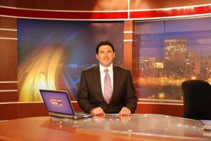 Local news anchor, Town of Marana embrace each other